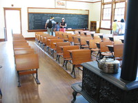 old canadian classroom