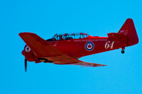 red canadian harvards Abbotsdord, British Columbia, Canada, North America