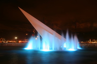 fountain of blue