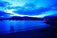 waiting for firework Vancouver, British Columbia, Canada