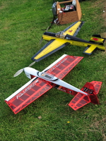 two model planes from burnaby model club