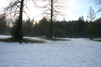 snow land of bunzen lake