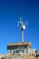weather station at the peak