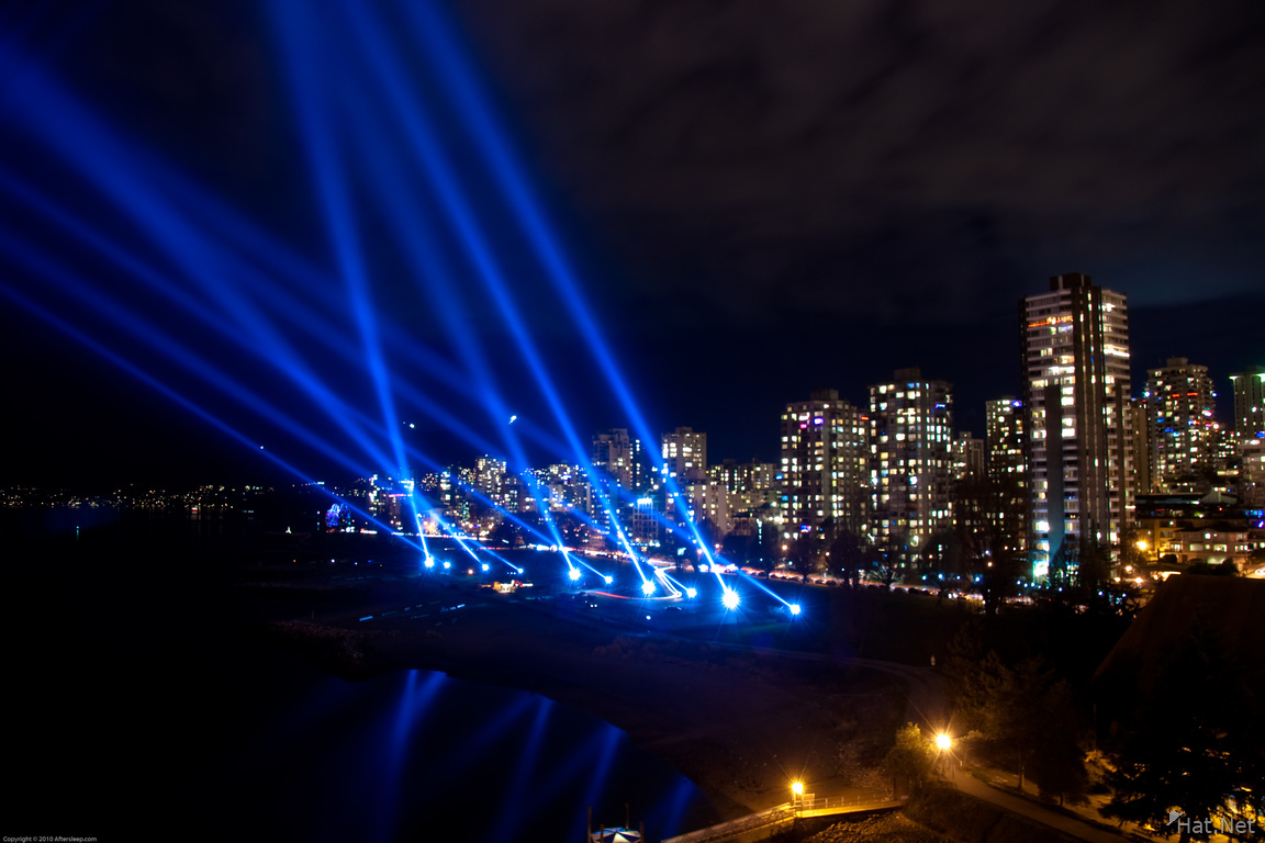 vectorial elevation in english bay